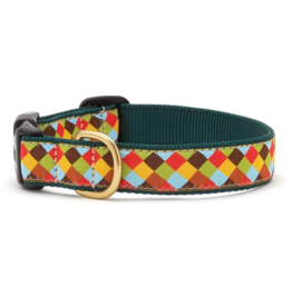Up Country Inc. Up Country Dog Collar Wide Sophisticheck- Small