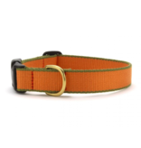 Up Country Inc. Up Country Dog Collar Tangerine/Green- X Large
