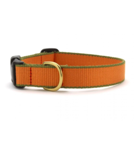 Up Country Inc. Up Country Dog Collar Bamboo Tangerine/Green Small