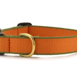 Up Country Inc. Up Country Dog Collar Bamboo Tangerine/Green-Medium