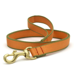 Up Country Inc. Up Country Dog Collar Lead Tangerine/Green Bamboo 6'