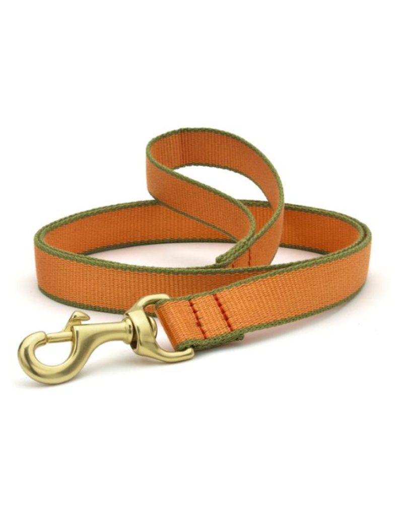 Up Country Inc. Up Country Dog Lead Bamboo Tangerine/Green 6'