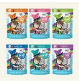 Weruva BFF OMG! Cat Food Pouches CASE Potluck Variety Pack 2.8 oz
