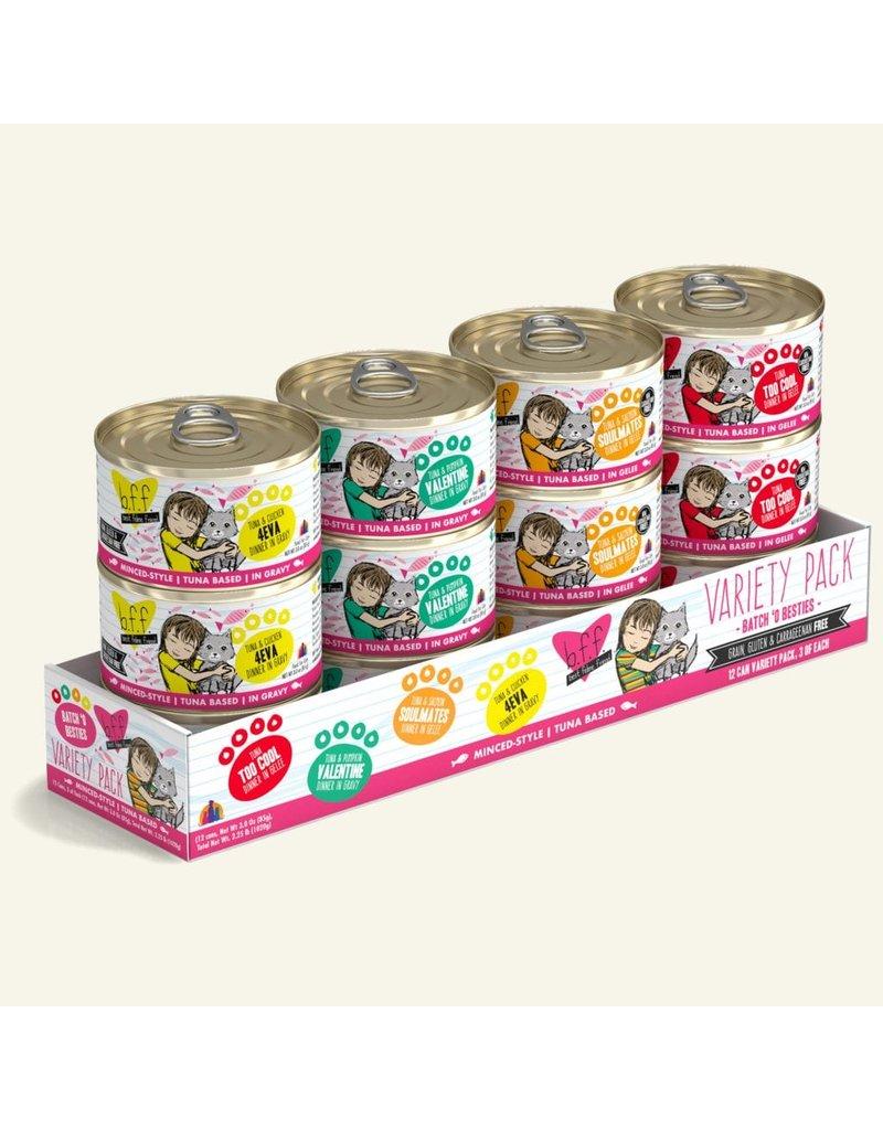 Weruva Best Feline Friend Canned Cat Food Batch O Besties Variety Pack 3 oz