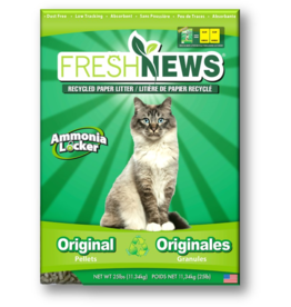 Fresh News Fresh News Recycled Paper Cat Litter 25 lb