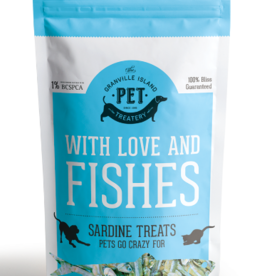 Granville Island Pet Granville Pure Protein Treats Dog & Cat Dried Sardine 7.41 oz