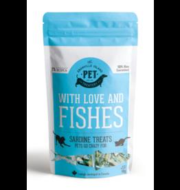Granville Island Pet Granville Pure Protein Treats Dog & Cat Dried Sardine 3.17 oz