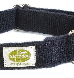 Earthdog Hemp Collar Ash Small