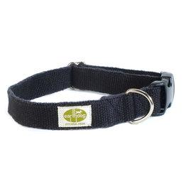 "Earthdog Earthdog Hemp Collar Ash Small 8""-14"""