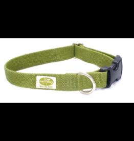 """Earthdog Earthdog Hemp Collar Leaf Small 8""""-14"""""""