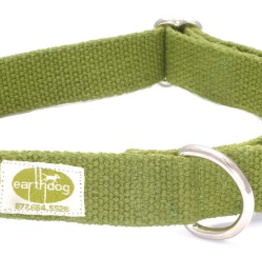 Earthdog Hemp Collar Leaf Medium