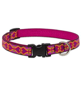 "Lupine Originals Collar 3/4"" Heart 2 Heart 9""-14"""