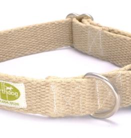 Earthdog Hemp Collar Natural Small