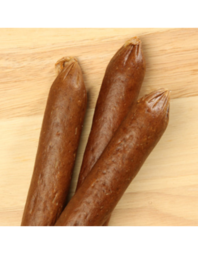 """Happy Howie's Happy Howie's Dog Treats Lamb Sausages 4"""" single"""