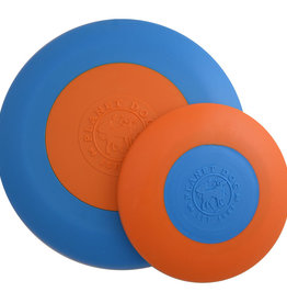 Planet Dog Planet Dog Orbee Tuff Zoom Flyer Blue/Orange Large