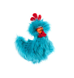 West Paw West Paw Furry Friends Toys Rowdy Rooster Turquoise