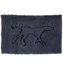 Tall Tails Tall Tails Wet Paws Mat w/Mitt Charcoal 31 x 20 Medium