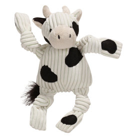 HuggleHounds HuggleHounds Toys Cow Barnyard Knot XS/Wee