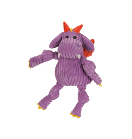 HuggleHounds Huggle Hounds Toys Puff Dragon Purple Knot XS/Wee