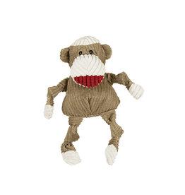 HuggleHounds Huggle Hounds Toys Sock Monkey Knottie XS/Wee