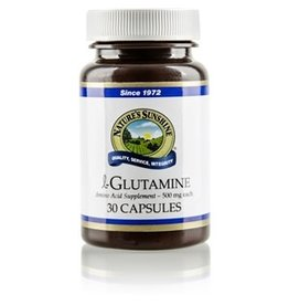 Nature's Sunshine Supplements L-Glutamine 30 capsules