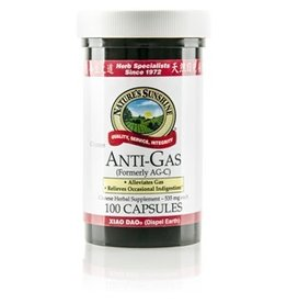 Nature's Sunshine Supplements Anti Gas Chinese 100 capsules