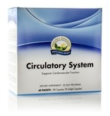 Nature's Sunshine Supplements Circulatory System Pack 30 Day