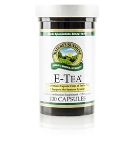 Nature's Sunshine Supplements E-Tea 100 capsules