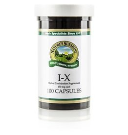 Nature's Sunshine Supplements I-X 100 capsules