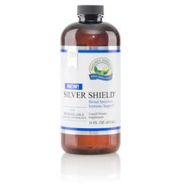 Nature's Sunshine Silver Shield  Aqua Sol (20 ppm) 16 fl oz