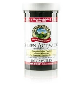 Nature's Sunshine Nature's Sunshine Supplements Spleen Activator 100 capsules