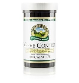Nature's Sunshine Supplements Nerve Control 100 capsules