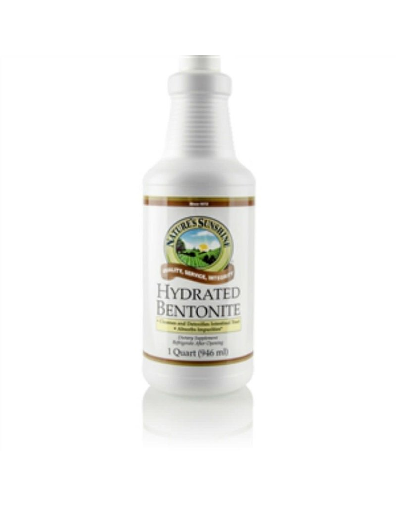 Nature's Sunshine Liquid Supplements Bentonite 32 fl oz