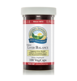 Nature's Sunshine Supplements Liver Balance 100 VegCaps