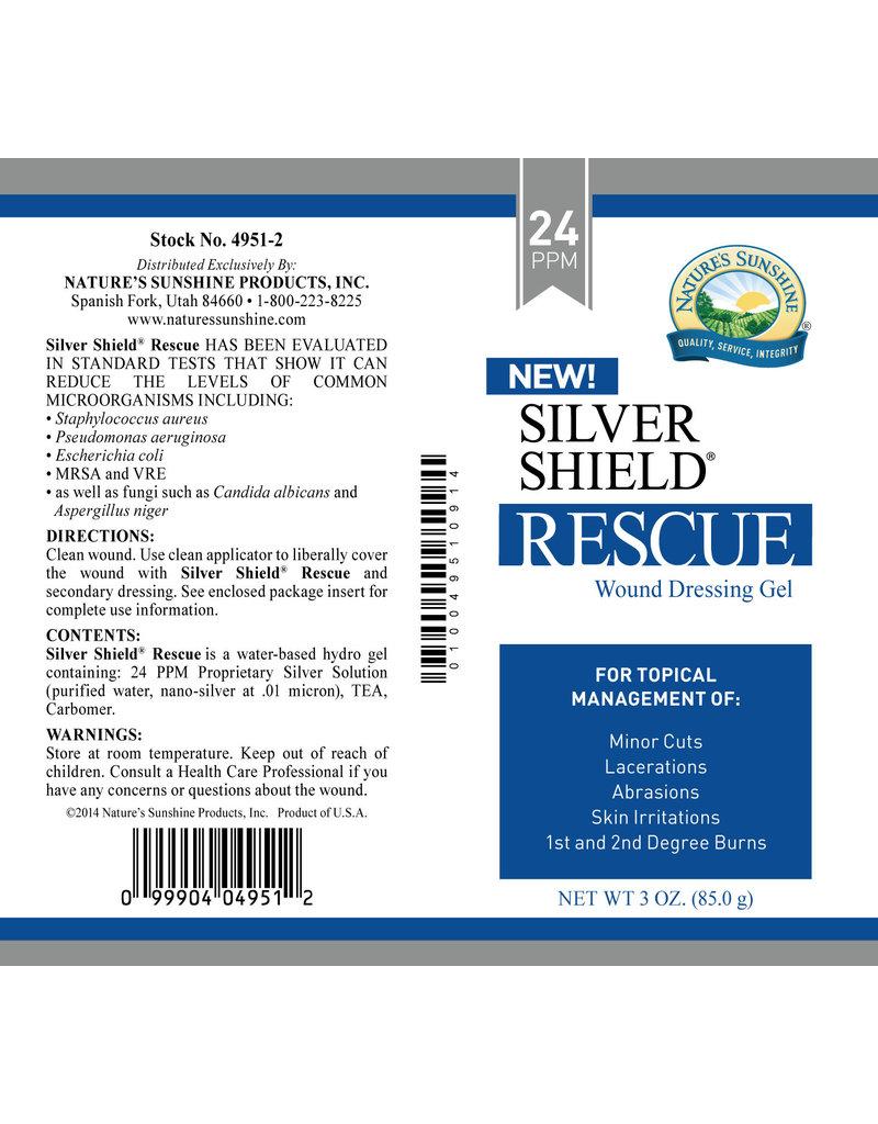 Nature's Sunshine Silver Shield  Silver Shield Rescue Gel (24 ppm) 3 oz