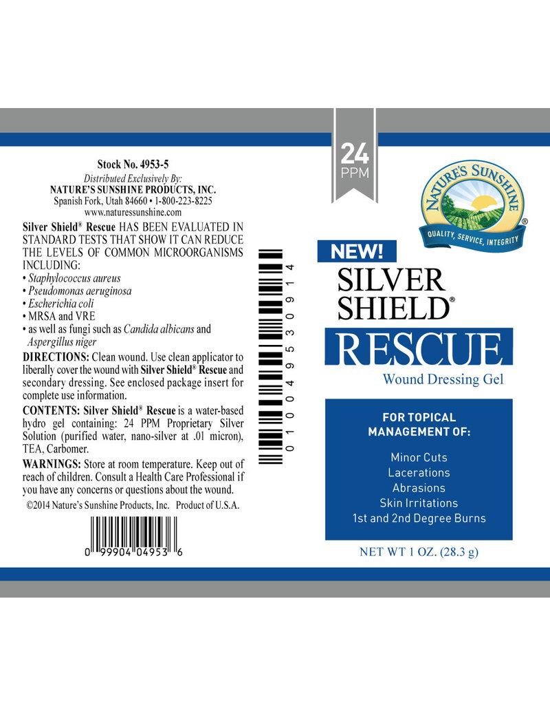Nature's Sunshine Silver Shield  Silver Shield Rescue Gel (24 ppm) 1 oz