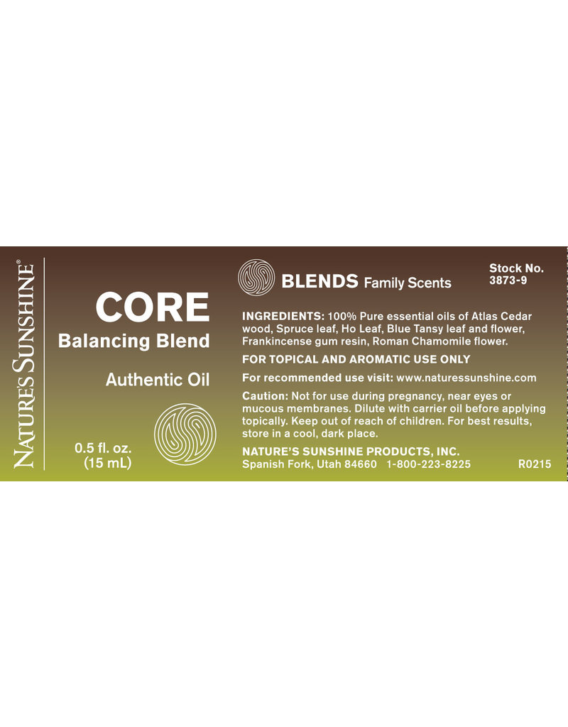 Nature's Sunshine Essential Oils  Core Balancing 15 ml