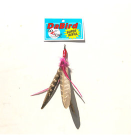 Go Cat Go Cat Toys Da Bird Replacement - Super Feather Refill