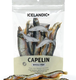 IcelandicPLUS Icelandic+ Dog Treats Capelin Whole Fish 2.5 oz