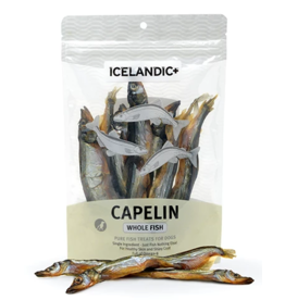 IcelandicPLUS Icelandic+ Dog Treats Capelin Whole Fish 2.5 oz