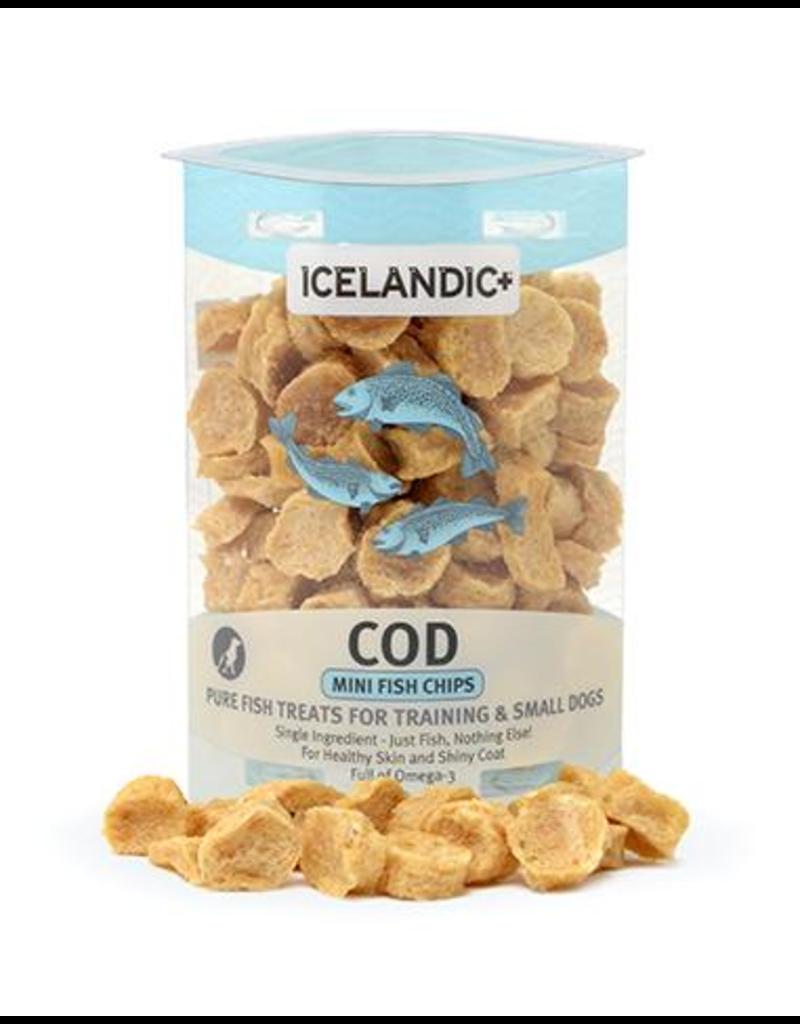 IcelandicPLUS Icelandic+ Dog Treats Cod Mini Fish Chips 2 oz