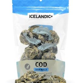 IcelandicPLUS Icelandic+ Dog Treats Cod Skin Rolls 3 oz CASE