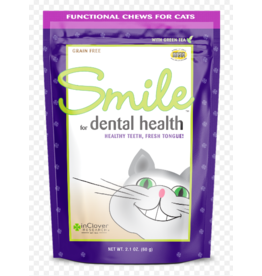 Inclover InClover Cat Soft Treats Smile Dental Health 2.1 oz