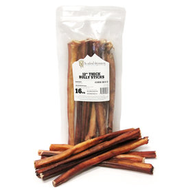 The Natural Dog Company Natural Dog Company Bully Sticks Thick 12""
