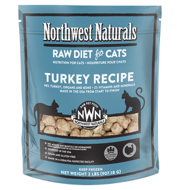 Northwest Naturals Northwest Naturals Cat Turkey Raw Frozen Nib 2 Lb