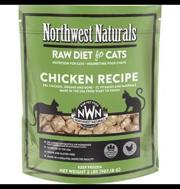 Northwest Naturals Northwest Naturals Cat Chicken Raw Frozen Nib 2 Lb