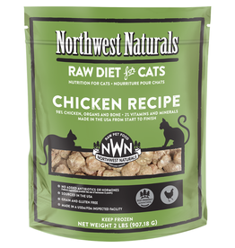 Northwest Naturals Northwest Naturals Frozen Cat Food | Chicken 2 lb (*Frozen Products for Local Delivery or In-Store Pickup Only. *)