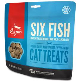 Champion Pet Foods Orijen Cat Treats Six Fish 1.25 oz