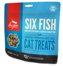 Champion Pet Foods Orijen Cat Treats Six Fish 1.25 oz