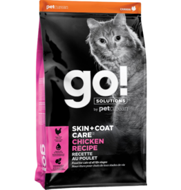 Petcurean GO! Cat Kibble Chicken Recipe Skin + Coat 3lb